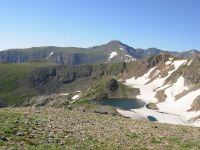 Looking south toward James Peak