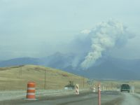 Fire in the Mission Mountains