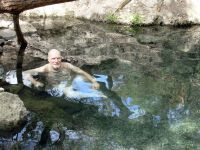 Jim at Jordan Hot Spring