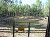 Stock pond & water source