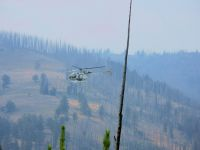 Firefighting Helicopter in YNP