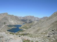 Temple Lake from the Pass