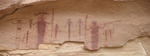 Virgin Spring pictographs