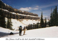 The Chinese Wall - Bob Marshall Wilderness, 1999